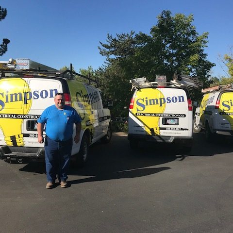 Scott Hall, Electrician • Simpson Electrical Construction Co.